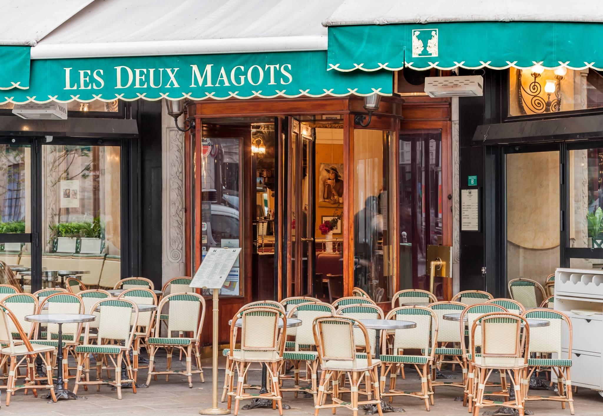 Les Deux Magots – Το ιστορικό café του Παρισιού