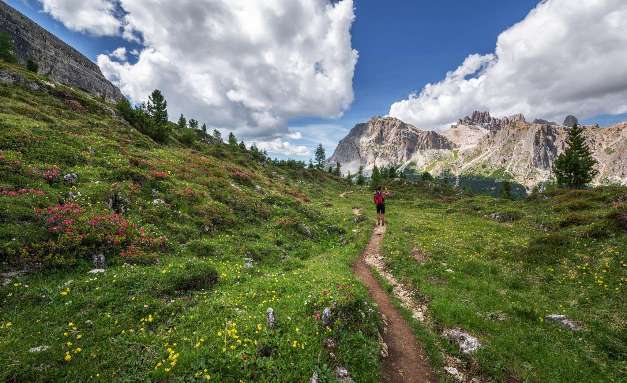 Ορεινές Διαδρομές Και Μονοπάτια Για Πεζοπορία